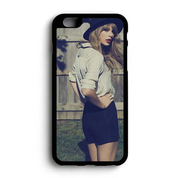 Taylor Swift Red Photoshoot iPhone 6+ Case