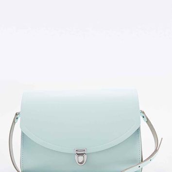 The Cambridge Satchel Company Large Push-Lock Bag in Mint - Urban Outfitters