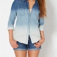 Ombre Chambray Button Down