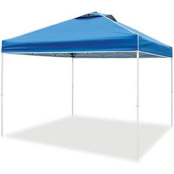 Z-Shade Everest II 10 ft x 10 ft Pop-Up Canopy Blue - Tents and Tarps, Canopy Car Ports at Academy Sports