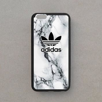Hot Adidas White Marble Custom For iPhone 6/6s, 6s plus Print On Hard Case Cover