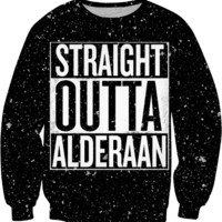 Star Wars / Straight Outta Alderaan Compton Sweater