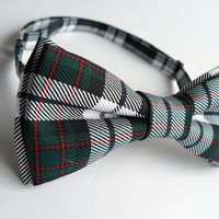 Tartan bow tie for men by Bartek Design