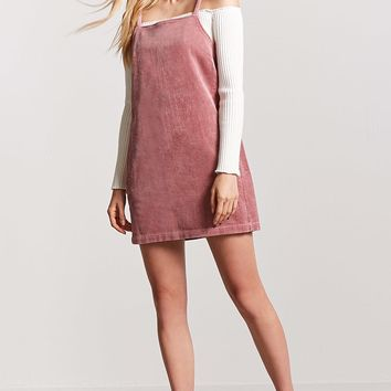 Corduroy Shift Dress