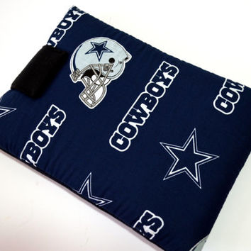 "Dallas Cowboy Tablet Cast/ Football Team Tablet Case 10"" X 7 1/2""/Sports tablet Case/ Kindle Fire HD 7"" Case/ i Pad Mini case/ Nook HD Case"