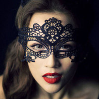 Lace Mask for Halloween Party