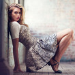 Lovers & Friends Fab Jacquard Fit + Flare Dress - Urban Outfitters