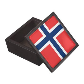 Norway Flag Premium Gift Box