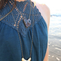 Grand Shark Tooth Necklace