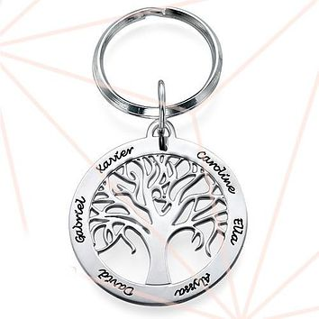 Keychain - Family Tree Of Life.