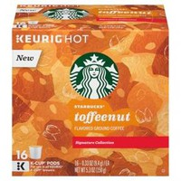 Starbucks Toffee Nut Keurig K-Cup Pods - 16ct