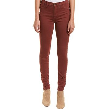 Free People Long And Lean Jegging Red Mocha