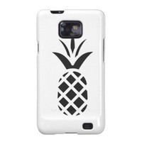 Black Pine Apple Galaxy SII Case