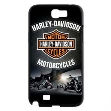 Cool Design Popular Motor Harley Davidson Cycles Logo Covers Cases Accessories for Samsung Galaxy Note 2 N7100:Amazon:Cell Phones & Accessories