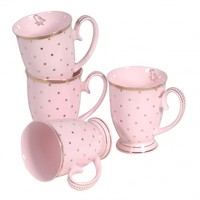 Gone Dotty Pink Mugs - Home Accessories - Accessories