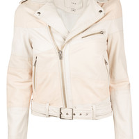 Witney Colorblock Leather Jacket