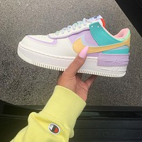 "Nike WMNS Air Force 1 Shadow""Tropical Twist""Low-top Sneaker"