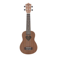 IRIN 21 Inch Sapele Matte Heart-shaped Sound Hole Ukulele