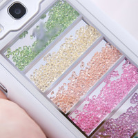 PREORDER: Samsung Galaxy S3 SIII Pastel Loose Shake Crystals Cell Phone Case