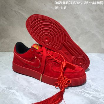 KUYOU N949 Nike Air Force 1 AF1 2019 New Year SKY Low Skate Shoes Red