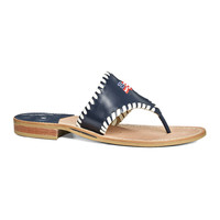 EXCLUSIVE STARS & STRIPES SANDAL IN NAVY BY JACK ROGERS