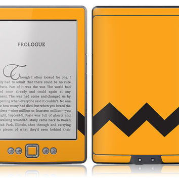 Amazon New Kindle Skin Cover Charlie Brown by stickitskins
