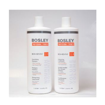 Bosley Bos Revive Shampoo  for Color-Treated Hair 1 Liter  33.8 fl. oz