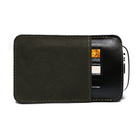 The highest quality unique men leather iphone 5 case iphone credit card - gift for him