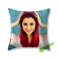 Ariana Grande 5 Square Pillow Cover