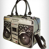 80's Ghetto Blaster Weekend Bag | PLASTICLAND