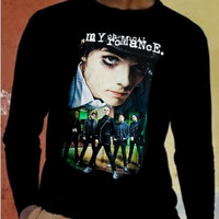 My Chemical Romance Band 1 Long Sleeve Tshirt Punk Rock Black T-shirt Rock Shirt Rock Tee Long Sleeve Shirt