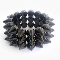 Spiked stud Stretch Bracelet (6 Colors)