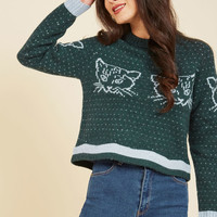 Warm-Hearted and Fuzzy Wool Sweater