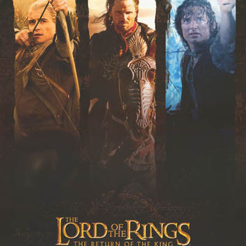 Lord of the Rings Heroes 2003 Movie Poster 25x36