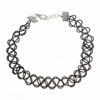 Black Stretchy Choker