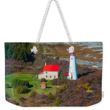 Thunder Bay Island Lighthouse - Weekender Tote Bag