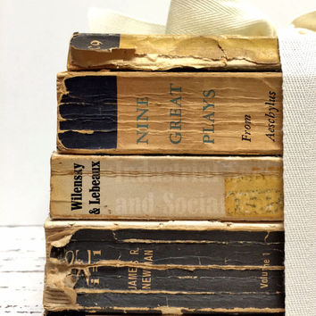 Old Books, Fall Wedding, Tattered Books, Old World, Aged Book, Books for Display, Home Stylist, Photo Prop, Old Books, Books for Display