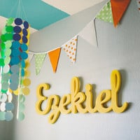 Reserve your slot: custom handmade wood sign for Nursery Baby Children modern and vintage decor