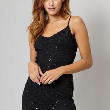 Buy Lipsy Sequin Lace Cami Dress online today at Next: Deutschland