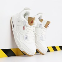 "Duangstyle - Levi's x Air Jordan 4 ""White"""