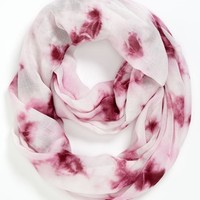 Leith Tie Dye Infinity Scarf | Nordstrom