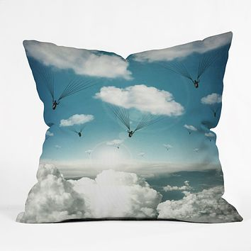Belle13 Rain Bringers Throw Pillow
