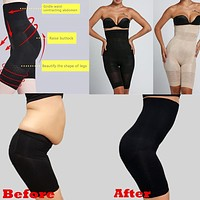 Sexy Women Beauty Slimming Shapewear Fat Burning Slim Shape Bodysuit Pants Plus Size