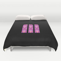 M Vector Scales Duvet Cover by Matt Irving