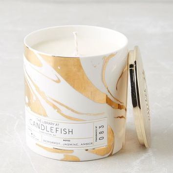 Anthropologie Candlefish Ceramic Candle | Nordstrom