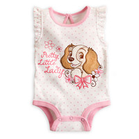 Lady Disney Cuddly Bodysuit for Baby - Lady and the Tramp