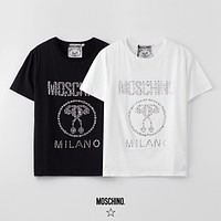Moschino Men Womens Cotton T-shirt