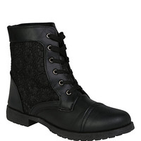 Black Lace Boot