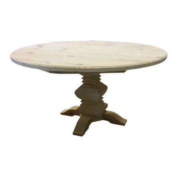 Round Fancy Farm Table