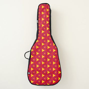 Abstract Graphic Design Guitar Case